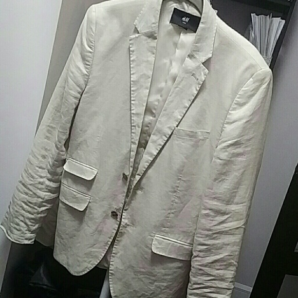 H&M Other - H&M Linen Blazer 36